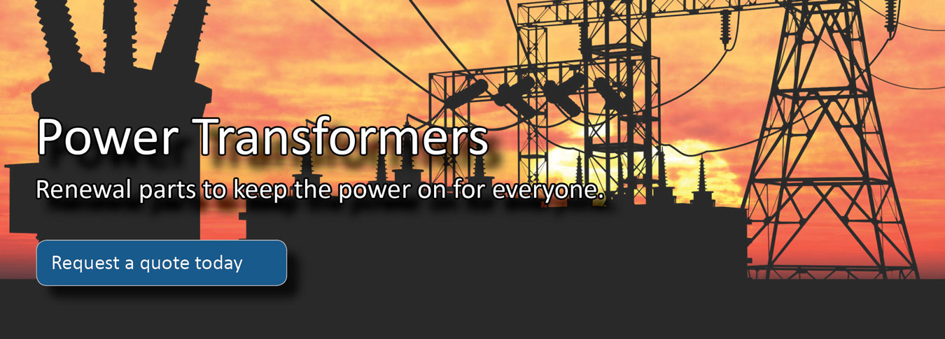 GE Power Transformers and renewal parts from PSC